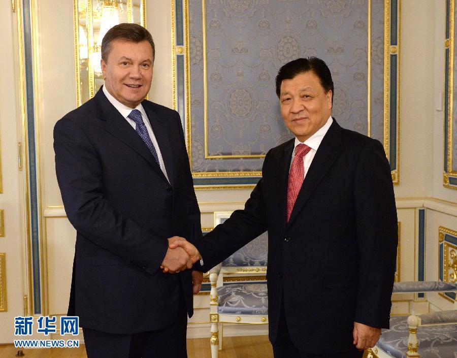كبير قادة الحزب الشيوعي الصيني يزور أوكرانيا