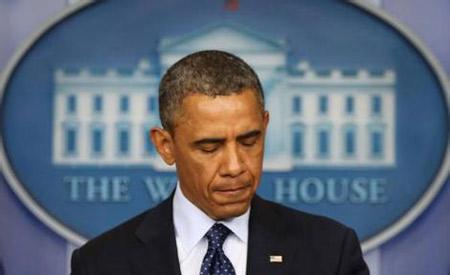 奥巴马发表电视讲话