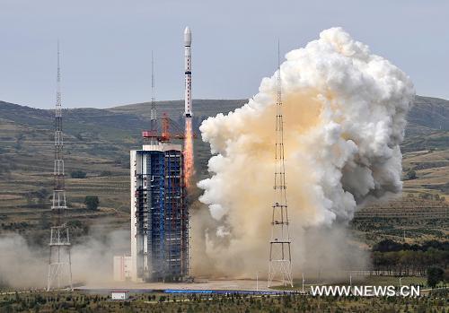 В Китае произведен успешный запуск нового метеоспутника