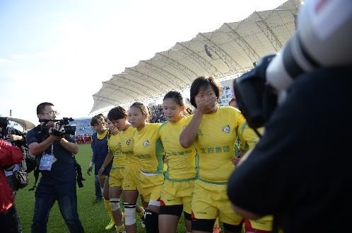 [季度观察]全运女子橄榄球赛 北京队消极比赛