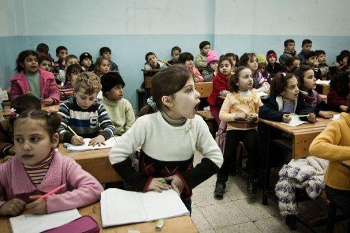 الحكومة التركية تنشئ مدارس خاصة للأطفال السوريين في تركيا