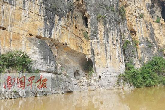 龙州一处洞穴发现文化遗物 骨剑是祭器蚌壳当菜刀