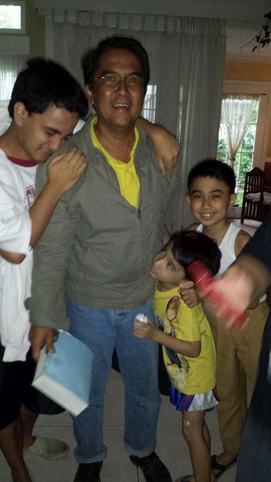 失踪4天后,博罗梅奥终于和家人团聚。