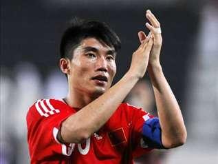 郑智是中国国家队和广州恒大双料队长