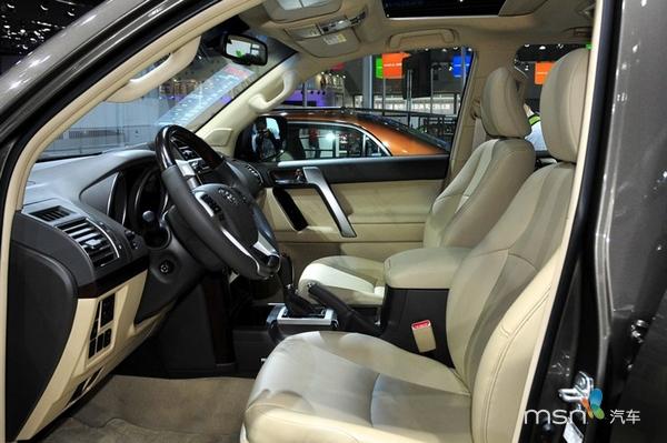 国产新款丰田普拉多上市 售53万-67.6万