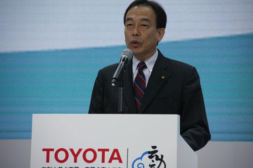丰田汽车公司专务、中国本部长大西弘致先生