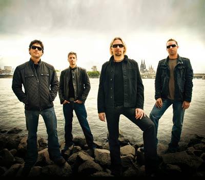 加拿大著名摇滚乐队nickelback