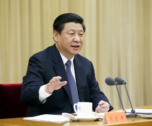 1月7日,中共中央总书记、国家主席、中央军委主席习近平在中央政法工作会议上发表重要讲话。