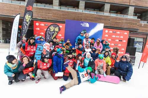 [高清组图]2014 The North Face®极限野雪挑战赛