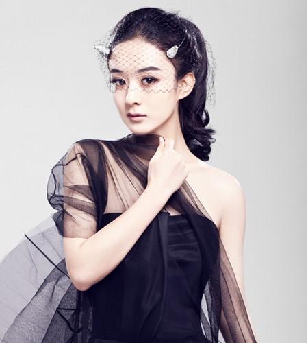 赵丽颖发型图片甜美气质清新可人