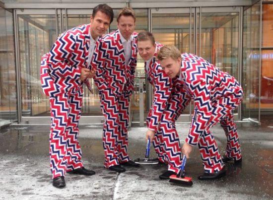 挪威冰壶队