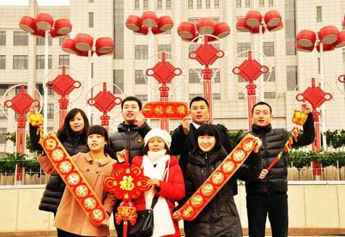 红红火火过大年 祝福我们有个美好明天_共筑中国梦_网