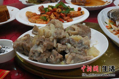 地方饮食特色——炖羊肉
