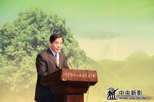 丝瓜成版人性视频app新影盛世(北京)国际微电影有限公司董事长谢印生讲话