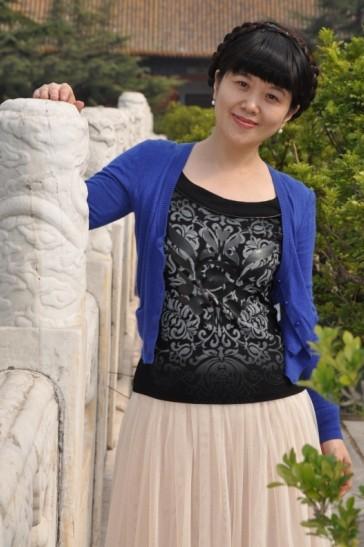 李哈哈李可爱的照片