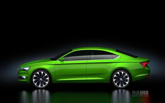 明锐轿跑雏形 斯柯达VisionC概念车发布