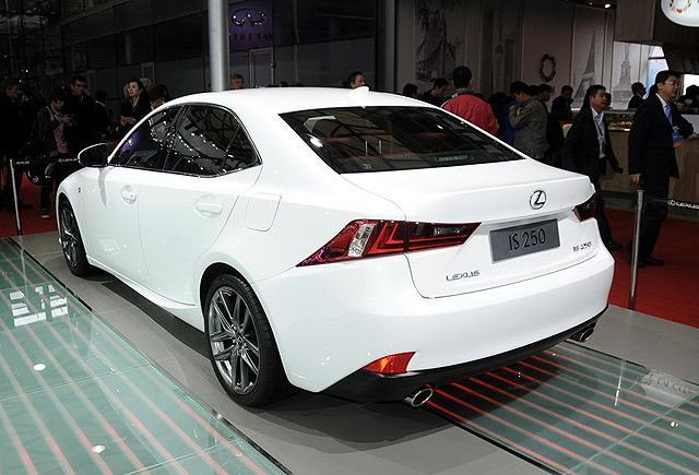 [国内车讯]2014款雷克萨斯IS将增2.0T车型