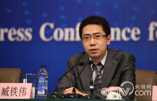 全国人大常委会法制工作委员会刑法室副主任藏铁伟 摄影 刘会成