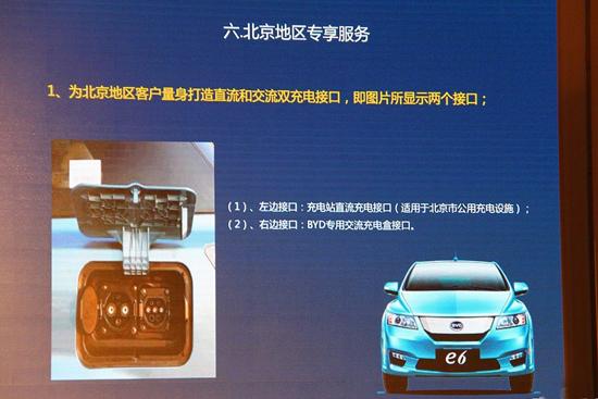 国家+地方共补贴11.4万 比亚迪e6北京上市
