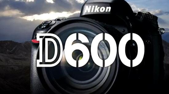 尼康D600相机广告