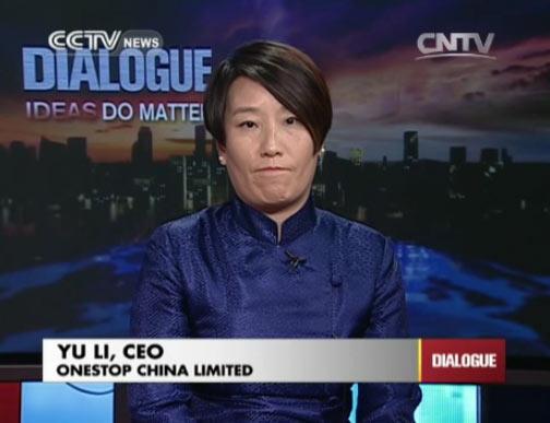 Yu Li, CEO of Onestop China Limited