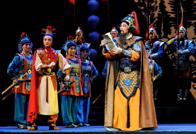 Yuju Opera dates back to the Ming Dynasty and is one of the oldest opera forms in China.
