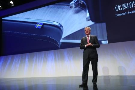 沃尔沃汽车集团中国业务高级副总裁拉尔斯.邓先生分享沃尔沃汽车的中国成长