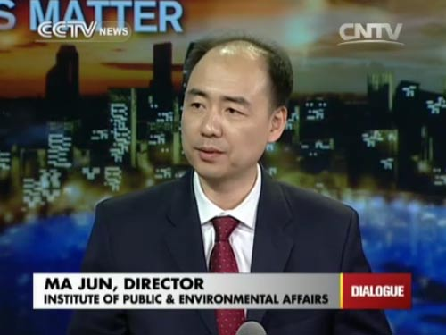 Ma Jun, Director of Institute of Public & Environmental Affairs