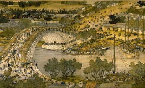 封市城市标志 清明上河图图片