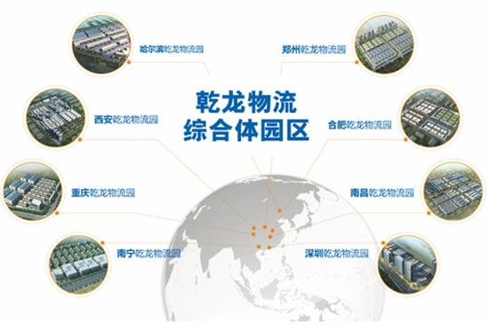 乾龙物流 现代物流服务平台提供商