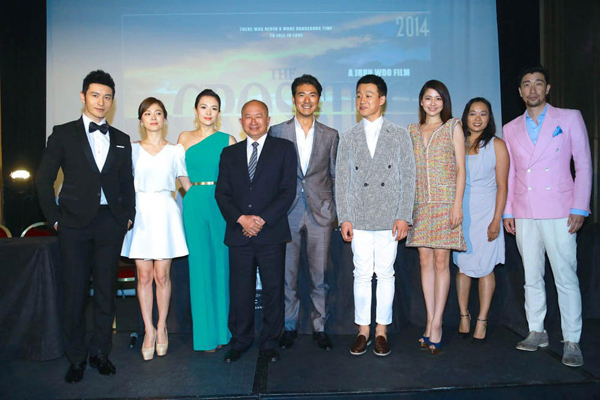 The Crossing Director John Woo And Cast At Cannes Film Festival