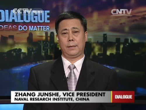 Zhang Junshe, Vice President of Naval Research Institute, China