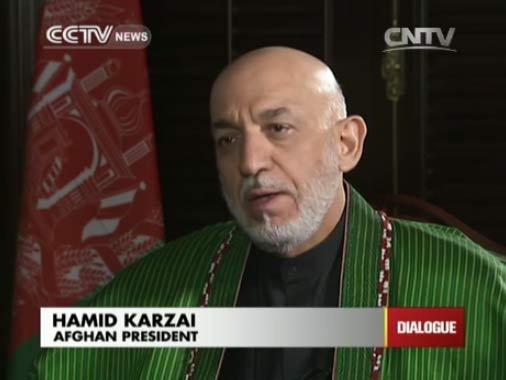 Hamid Karzai,  Afghan President