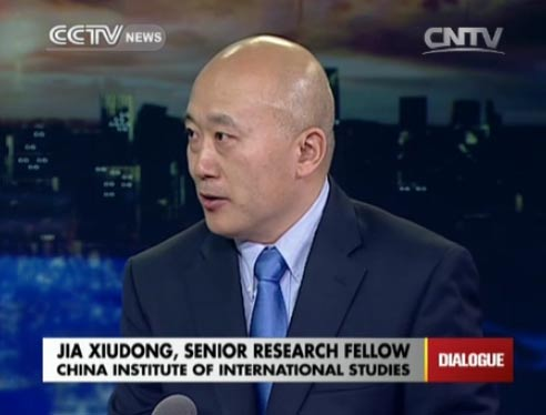 Jia Xiudong, Senior Research Fellow of China Institute of International Studies
