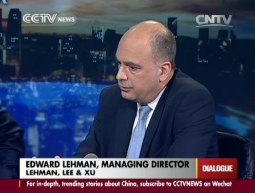 Edward Lehman, Managing Director of Lehman, Lee & Xu