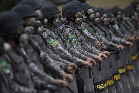 إجراءات أمنية مشددة في ملعب ماراكانا بريو دي جانيرو