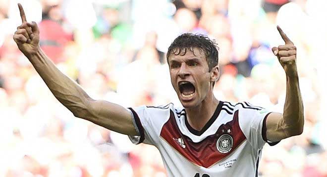 Thomas Muller hat-trick helps Germany crush Portugal 4-0