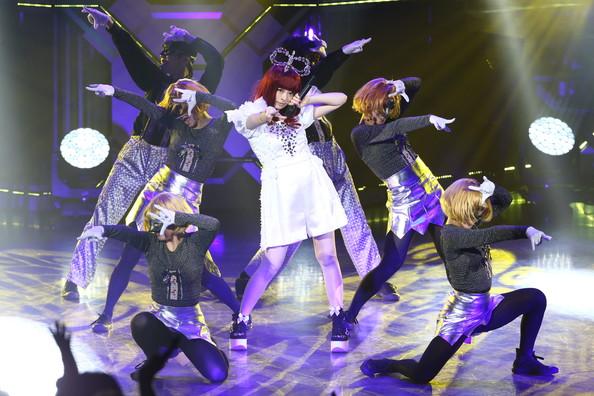 Singer Kyary pamyu pamyu performs onstage during MTV Video Music Awards Japan 2014 at Maihama Amphitheater on June 14, 2014 in Urayasu, Japan. (Ken Ishii/Getty Images)