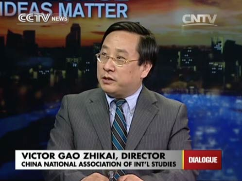 Victor Gao Zhikai, Director of China National Association of Int