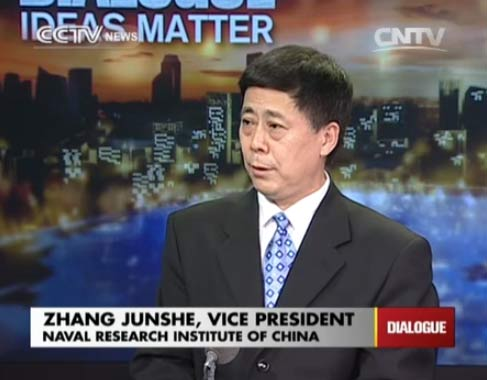 Zhang Junshe, Vice President of Naval Research Institute of China