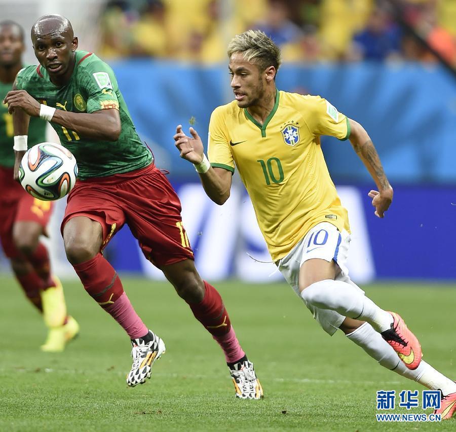 Сборная Бразилии победила камерунцев