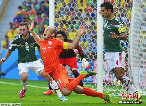 منتخب هولندا يفوز على مكسيك بنتيجة اثنين مقابل واحد