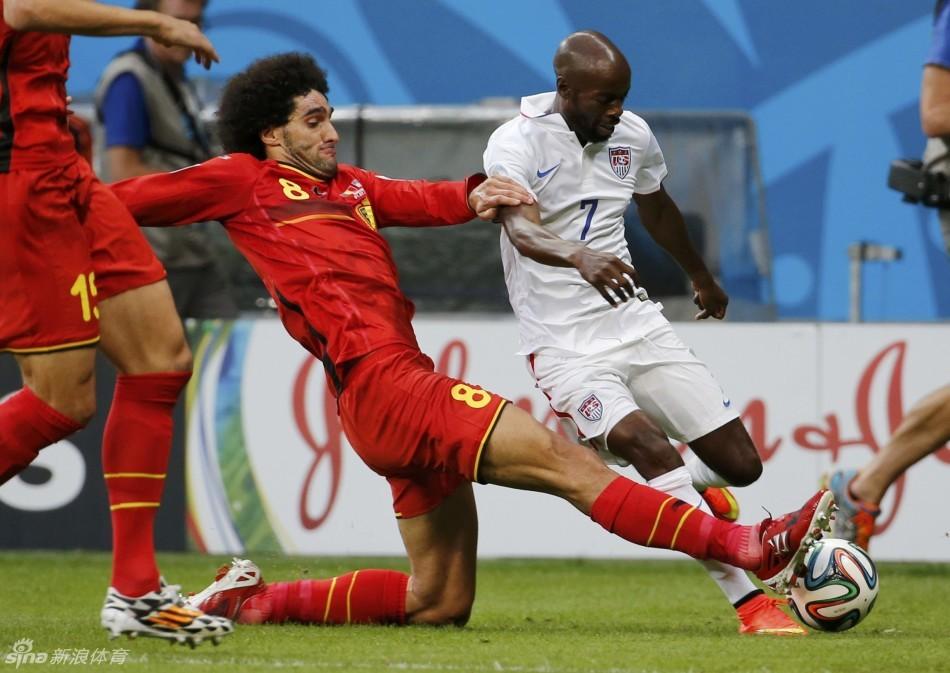 Belgium beat U.S. 2-1