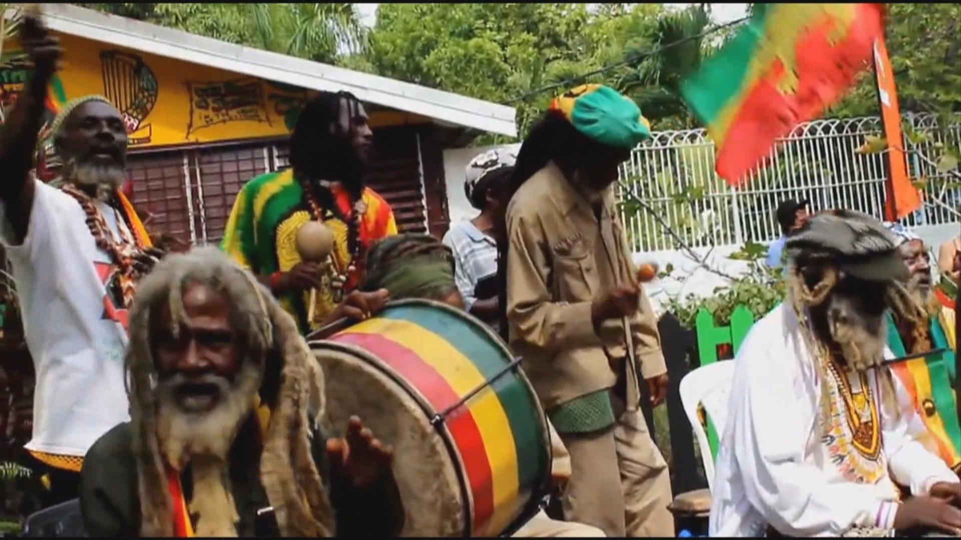 Chinese Rastafarian from the Rastafarian group