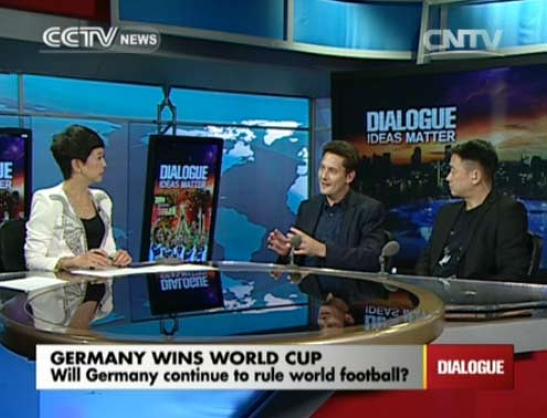 Dialogue 07/14/2014 Germany wins World Cup
