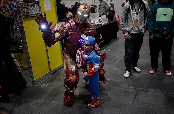 From RoboCop to Batman and Manga to Marvel, cosplay