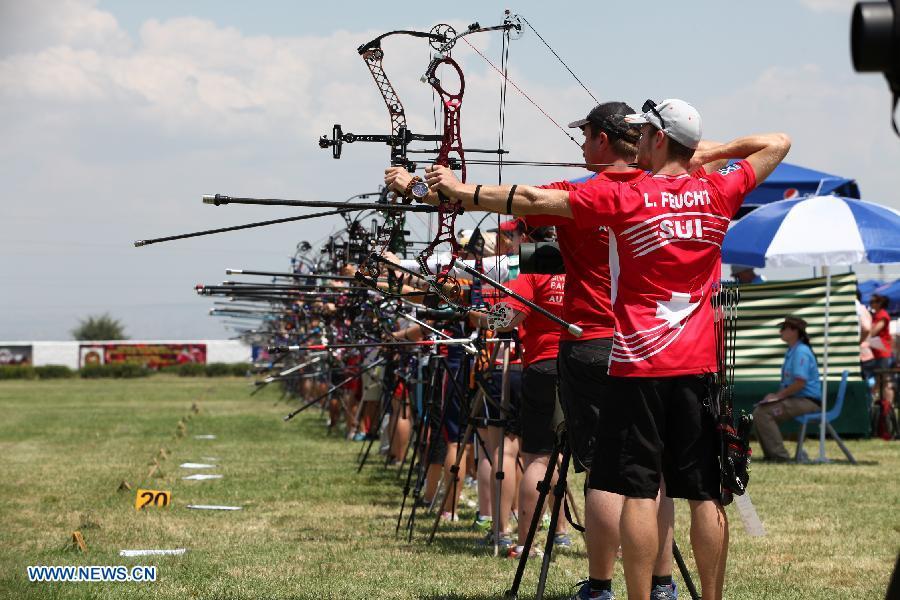 В Армении проходит чемпионат Европы по стрельбе из лука 2014