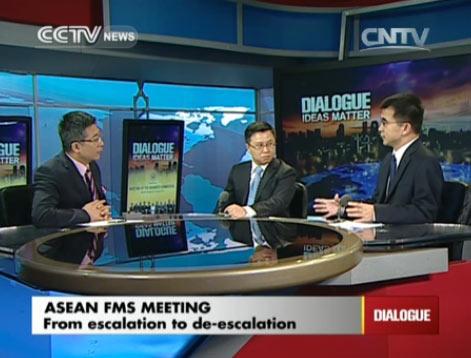 Dialogue 08/12/2014 ASEAN FMs meeting