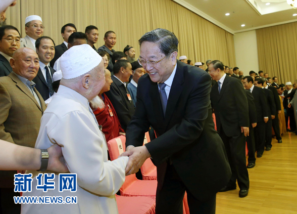 中国宗教界和平委员会四届一次会议举行 俞正