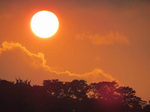 火红的太阳